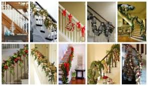 Christmas Railing Decorations Posts With Christmas Staircase Decorations Tag Top Dreamer
