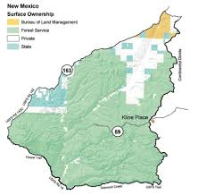 State Of New Mexico Map by Gila National Forest Elk Hunts Unit 15 16a 16c 16d 16e 23