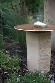 native plant nursery sydney mallee spun copper bird baths and water bowls on display at sydney