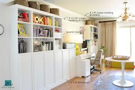 Billy Bookcase Diy Diy Bookshelf Built In Lesley Myrick Art Design