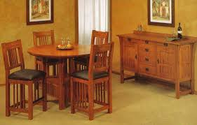 Mission Style Dining Room Tables - trend manor mission dining room set broadway furniture