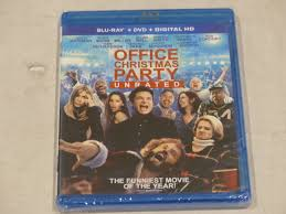 office christmas party unrated blu ray dvd digital hd new mdg