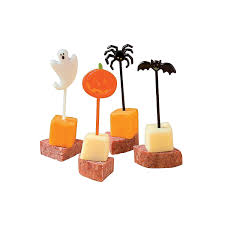 amazon com 72 plastic halloween picks by fe kitchen u0026 dining