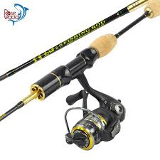 ultra light rod and reel rosewood brand 1 8m ul spinning fishing rod set 9 1bb spinning reel