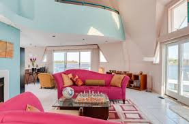 Bedroom Living Room Combo Design Ideas Pink Sofas An Unexpected Touch Of Color In The Living Room