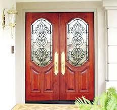 doors with glass windows sminfd mahogany door leaded beveled glass window custom glass design