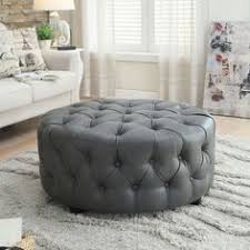 Leather Ottoman Round by Furniture Stunning Beige Ottoman Coffee Table Rectangular Shape