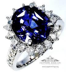 chagne diamond engagement ring untreated sapphire diamond ring 5 00 ct ceylon violetish blue