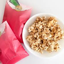 candy apple bags fall gift idea caramel apple popcorn goodie bags we r memory
