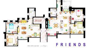 Flats Floor Plans Floor Plans Of Your Favorite Tv Apartments Nerdist
