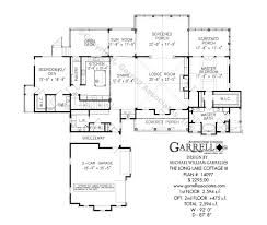 long lake cottage iii house plans by garrell associates inc with