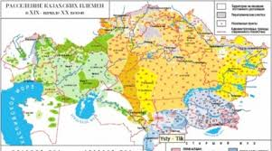 Good Map All Good Positions In Kazakhstan Are Held By Southern Clans