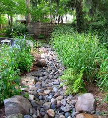 river rock siding landscape contemporary with asian back yard