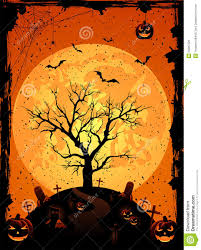 halloween background with tree royalty free stock image image
