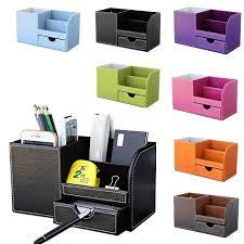 Office Desk Organizer by Office Table Desk Organizer Leather Pen Holder Desktop Storage