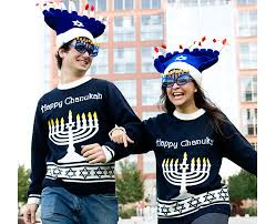 light up hanukkah sweater the ugly sweater eight crazy nights