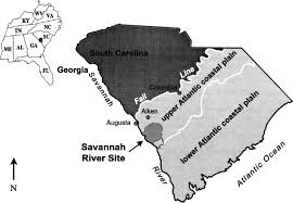 Alligators In Georgia Map Overview Of The History And Geology Of The Savannah River Site