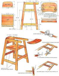 Wood Dollhouse Furniture Plans Free by How To Build A Homemade High Chair Do It Yourself Mother Earth