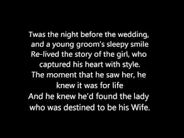wedding wishes day before twas the before the wedding a poem big my day