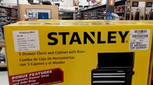 stanley tool chest cabinet stanley toolbox at walmart 2017 youtube