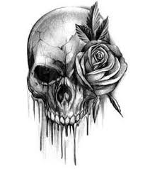 bloody skull with a b skulls