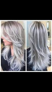putting silver on brown hair best 25 white highlights ideas on pinterest blond hair with