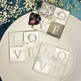 wedding favor coasters coasters favor favor