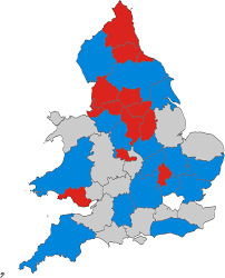 Map Of England And Wales File England And Wales Police And Crime Commission Elections 2012