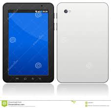 generic android tablet stock image image 28620351