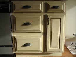 Painting Oak Kitchen Cabinets Cream Color Antique Refinishing Oak Kitchen Cabinets With Black