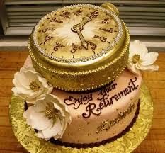 25 retirement cakes ideas retirement clock