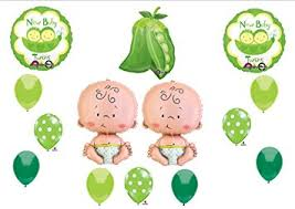 2 peas in a pod new two peas in a pod baby shower balloon