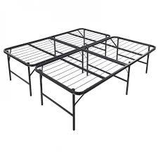Folding Cing Bed King Size Foldable Platform Bed Frame Onebigoutlet