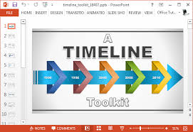 timeline template open office powerpoint timeline template