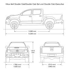 2014 toyota tacoma dimensions toyota hilux bed dimensions roole