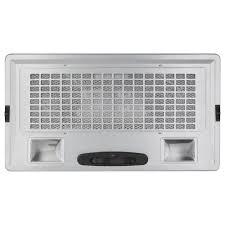 range hood exhaust fan inserts ge 30 in insert range hood with light in silver jvc3300jsa the