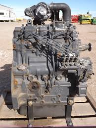 shibaura 2 216l four cylinder turbo diesel engine item aw9