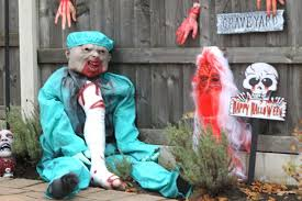 halloween decorations in greater manchester manchester evening news