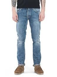 grim tim liberty used selvage nudie jeans