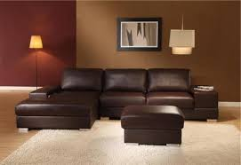 Brown Leather Sectional Sofa Brown Leather Couch As Classy Interior In Your Room S3net
