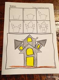 free haunted house halloween video background free haunted house directed drawing new teachers pinterest