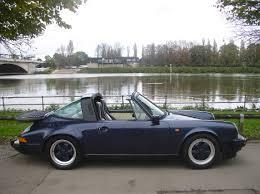classic porsche 911 classic chrome porsche 911 carrera 3 2 sport targa 1985 c blue