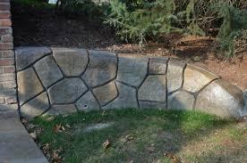Concrete Block Garden Wall by Download Concrete Retaining Wall Cost Garden Design