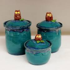 blue kitchen canisters blue glass canister set canister set of 4 gold kitchen canisters