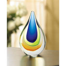 art glass teardrop wholesale at koehler home decor