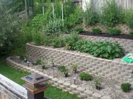 Backyard Planter Ideas Triyae Com U003d Terraced Backyard Design Ideas Various Design