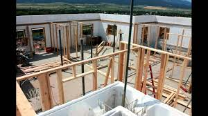 basement partition walls icf build youtube