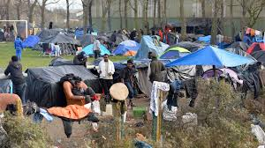 calais migrant camps seventeen years of shanty towns u2013 channel 4 news