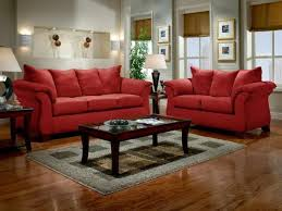 Red Living Room Chairs Zampco - Casual living room chairs