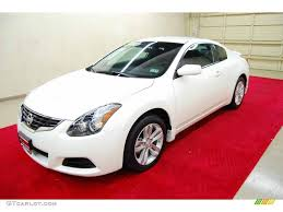 nissan altima coupe 2011 2011 winter frost white nissan altima 2 5 s coupe 48268520 photo